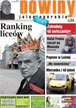 Okładka Nowin Jeleniogórskich Nr 15 (2012-04-10)