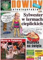 Okładka Nowin Jeleniogórskich nr 1 (2013-01-01)