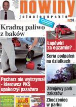 Okładka Nowin Jeleniogórskich Nr 25 (2012-06-19)