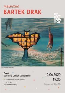 Wystawa malarstwa Bartka Draka w Szklarskiej Porębie