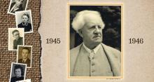 Gerhart Hauptmann i Polacy na urodziny noblisty