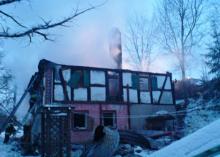 Spłonął dom, nikt nie ucierpiał