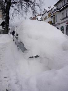 Szklarska Poręba pod śniegiem