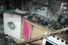 Uratowana z pożaru przez sąsiadów