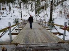 Odbudowano zniszczony most