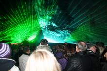 Festiwal światła zaskakuje publiczność
