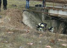Lwówek Śląski: zwłoki mężczyzny w rzece