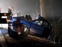 Śmiertelny wypadek w Maciejowej