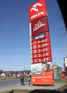 Olej napędowy już też po ponad 5 złotych