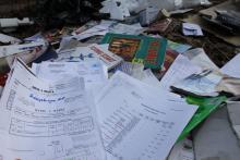 Wyrzucili dokumenty z danymi osobowymi mieszkańców