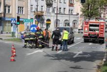 Wyciekł gaz na Wojska Polskiego