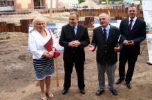 Grzegorz Schetyna o kandydatach na placu budowy