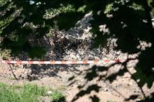 Bombowy teren wokół stacji BP