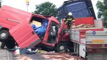 Śmiertelny wypadek przy autostradzie