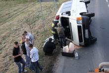 Wiózł młodzież i spowodował wypadek. Stanie przed sądem