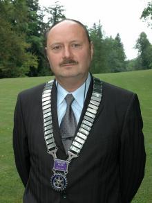 Piętnasty prezydent Rotary Clubu