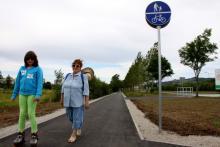 Ścieżka nareszcie dla pieszych i rowerzystów