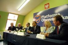 Schetyna: PO ma w Jeleniej Górze dobry elektorat