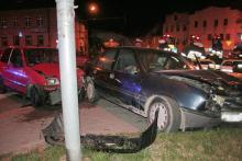 Pijana uderzyła w Fiata
