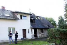 Tragiczny pożar w Dziwiszowie. Dwie osoby nie żyją