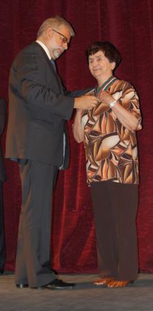Medal Gloria Artis dla ALINY OBIDNIAK!