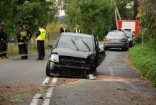 Groźny wypadek, kobieta trafiła do szpitala