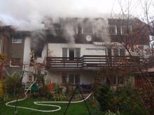 Poranny pożar w Cieplicach