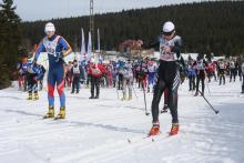 Start biegu na 30 km w 2012. Zapisy na XXXVII Bieg Piastów rozpoczną się w maju. Fot. L. Kosiorowski