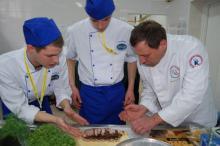Mistrzostwa młodych kucharzy pod Śnieżką