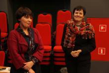 Aleksandra Jarocińska i Marta Prohaskova. Fot. ROB