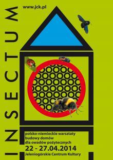 INSECTUM. Budujemy domy dla owadów