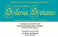 W Kościele Łaski muzyka Silesii Sonans