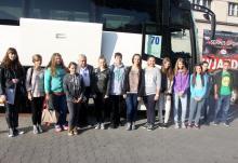 Najlepsi uczniowie pojechali do Warszawy
