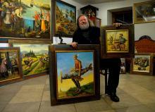 """3 grudnia zlicytujemy """"Lotnika z Jeżowa"""" i kolejny obraz z cyklu """"Don Kichot z Pławnej"""""""