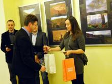 Pierwsza nagrodę odebrała Anna Więckowska