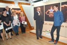Kamil Stoch otworzył wystawę w Karpaczu