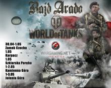 Rajd Arado '2015 World of Tanks, czyli Dolnośląskie Święto Historii