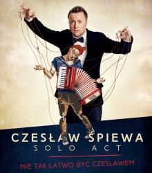 Czesław Śpiewa Solo Act już w piątek