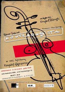 """""""Kontrabasista"""" na scenie ODK"""