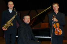 W czawrkowy wieczór na cieplickiej scenie wystąpi Trio Sonore