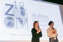 Gościem specjalnym pierwszego dnia festiwalu była znakomita aktorka Gabriela Muskała. Fot. Marcin Oliva Soto