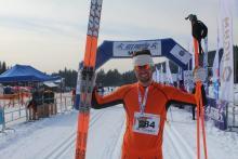 Daniel Iwanowski wygrał klasyka na 15 km / FOT. BIEG PIASTÓW