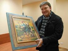 Obraz sprzedany, Mikołaj w drodze