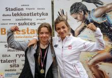 Ewa Ochocka (po prawej).