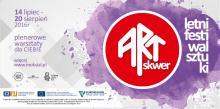Twórcze wakacje pod Szrenicą, czyli ArtSkwer 2016