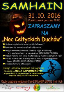 Noc Celtyckich Duchów w Szklarskiej Porębie