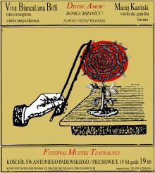 Dawne pieśni włoskie na Festiwalu Muzyki Teatralnej