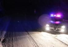 Sporo kłopotów przez zamiecie śnieżne
