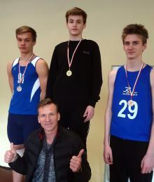 Michał Zazula wygrał bieg na 60 metrów przez płotki