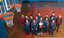 Brąz młodych koszykarzy w międzynarodowym turnieju